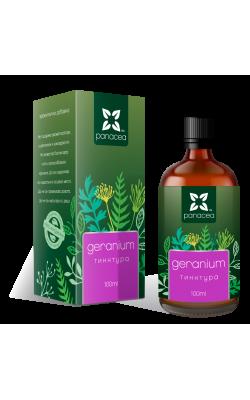 Тинктура Гераниум - екстракт от кръвен здравец
